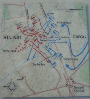 Fleetwood Hill Battle Map Photo, Click for full size