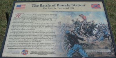 The Battle of Brandy Station Marker Photo, Click for full size