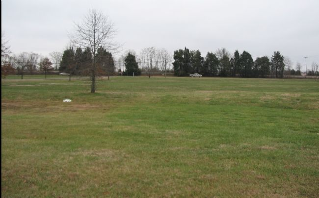 Review Field from the State Police Parking Lot Photo, Click for full size