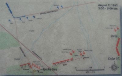 Map of the Battle at the Phase Described on the Marker image. Click for full size.
