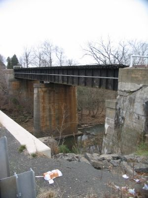Cedar Run Bridge Photo, Click for full size