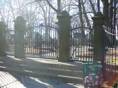 The Main Gate on South Clinton Avenue image. Click for full size.