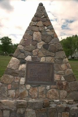 Levi Robinson Monument image. Click for full size.