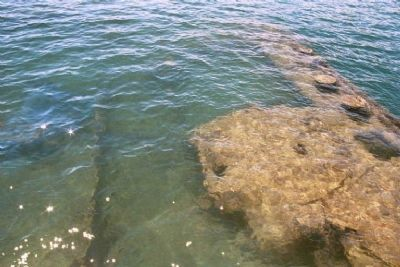 Rusting remains of the USS Arizona Photo, Click for full size