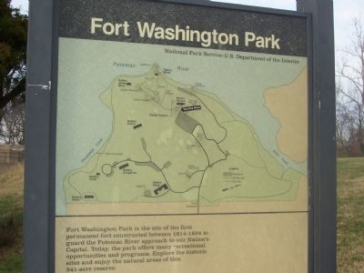 "Fort Washington Park ""You are here."" image. Click for full size."