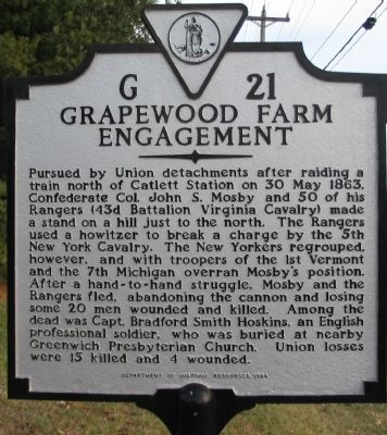 Grapewood Farm Engagement Marker image. Click for full size.
