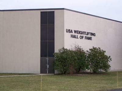 U.S. Weightlifting Hall of Fame Building image. Click for full size.