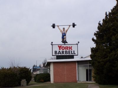 York Barbell Factory image. Click for full size.
