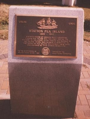 Station Pea Island Memorial Marker Photo, Click for full size