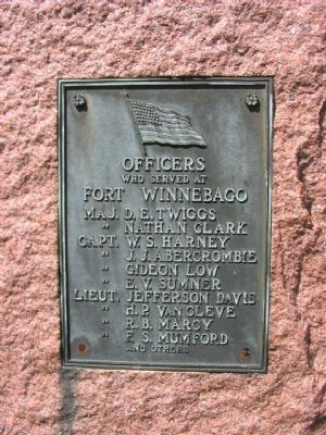 Officers Plaque image. Click for full size.