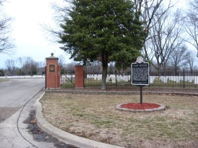 Entrance to Camp Butler National Cemetery Photo, Click for full size