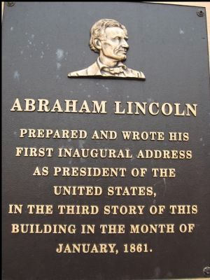Lincoln-Herndon Law Offices Marker Photo, Click for full size