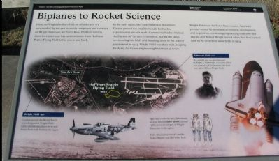 Biplanes to Rocket Science Marker image. Click for full size.