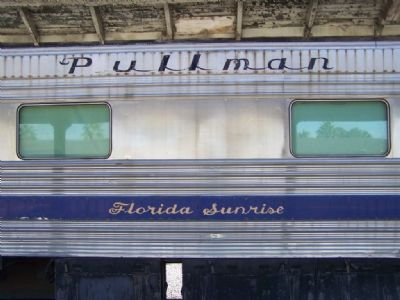 "Pullman Car ""Florida Sunrise""  no.2700 image. Click for full size."