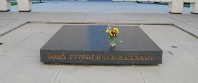 John F. Kennedy Memorial Plaza Marker Photo, Click for full size