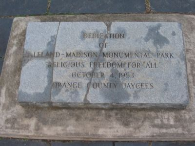 Rededication Stone image. Click for full size.