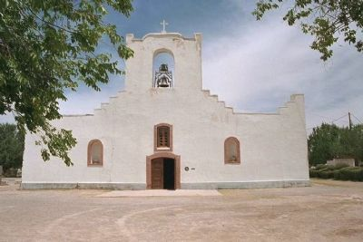 The Socorro Mission Photo, Click for full size