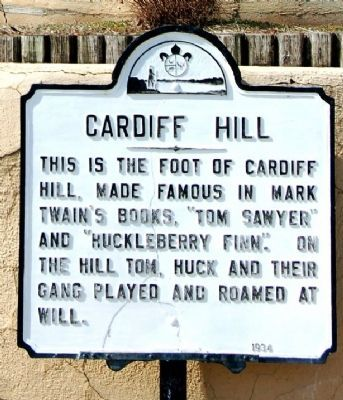 Cardiff Hill Marker Photo, Click for full size