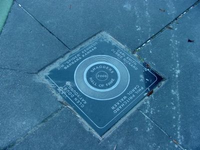 The 2006 Tile on the Shaggers Hall of Fame Walk image. Click for full size.
