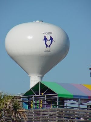 Myrtle Beach Water Tower image. Click for full size.