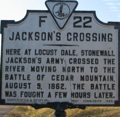 Jackson's Crossing Marker image. Click for full size.
