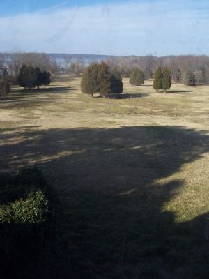 View toward the Potomac from Harmony Hall Manor - Broad Creek Historic District. Photo, Click for full size