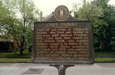 Chief Paduke Marker Photo, Click for full size