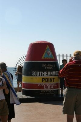 Southern Most Point Marker image. Click for full size.