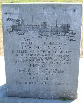Catalino Tingzon Marker Photo, Click for full size