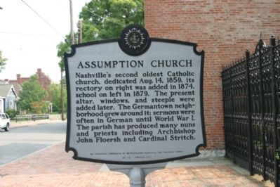 Assumption Church Marker image. Click for full size.