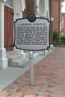 Assumption Church / Cardinal Stritch Marker image. Click for full size.