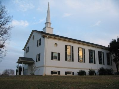 The Broad Run Baptist Church image. Click for full size.