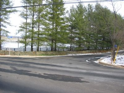Trappe Road Intersection image. Click for full size.