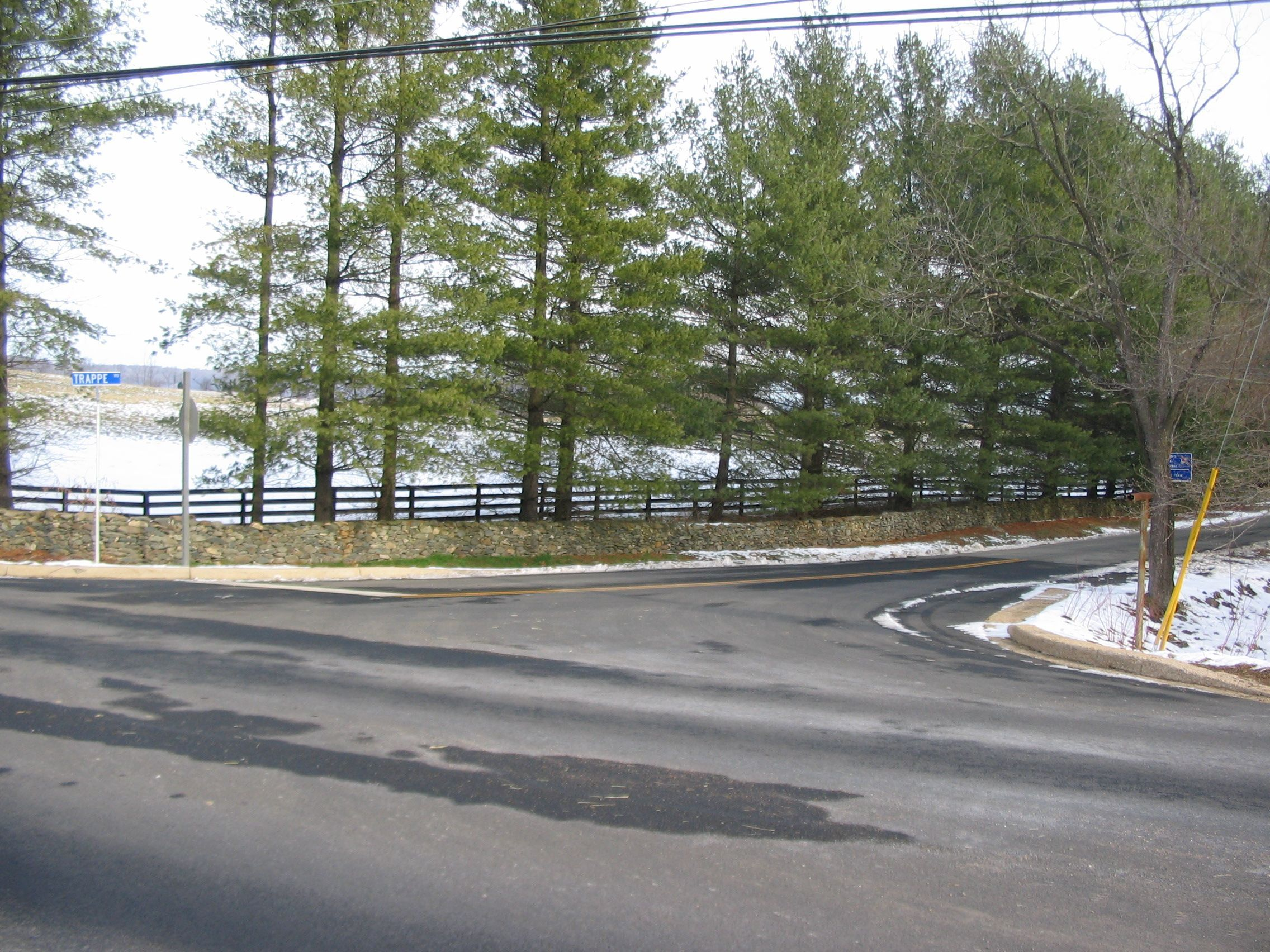 Trappe Road Intersection