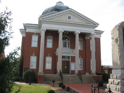 The Current Louisa Courthouse image. Click for full size.