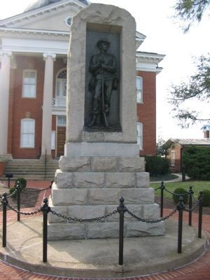 County Confederate Veterans Memorial image. Click for full size.