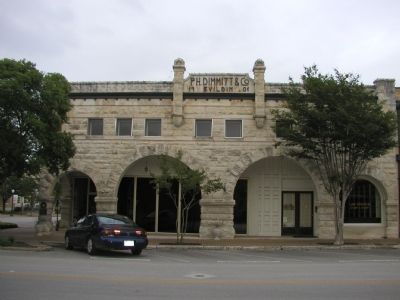 Old Dimmitt Building image. Click for full size.
