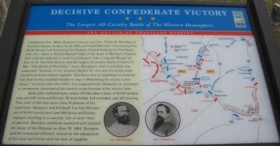 Decisive Confederate Victory Marker image. Click for full size.