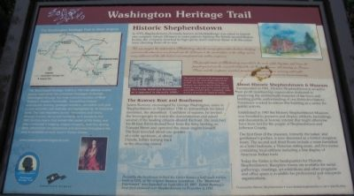 George Washington Heritage Trail Marker Photo, Click for full size
