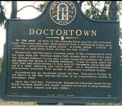 Doctortown Marker Photo, Click for full size