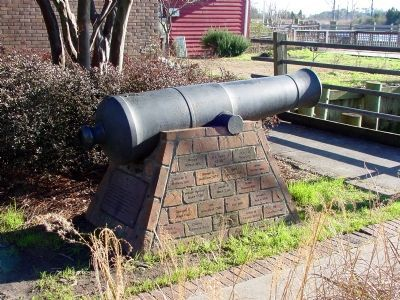 Marker is On the Cannon on the Left image. Click for full size.