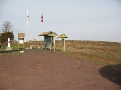 Kiosk Site and the Farley Monument Photo, Click for full size