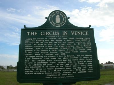 The Circus in Venice Marker image. Click for full size.