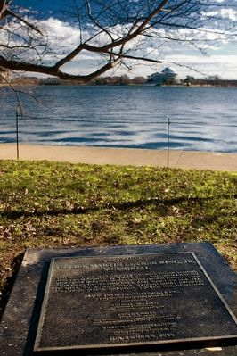 The Dr. Martin Luther King, Jr. Memorial Marker Photo, Click for full size