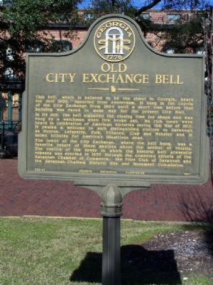 Old City Exchange Bell Marker Photo, Click for full size