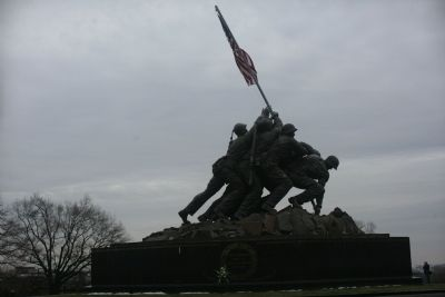 United States Marine Corps Memorial image. Click for full size.