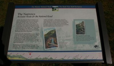 The Narrows Marker image. Click for full size.