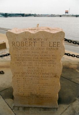 In Memory of Robert E. Lee Marker Photo, Click for full size