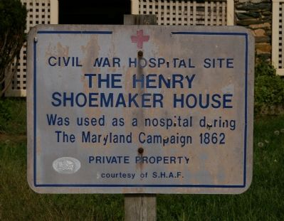 Henry Shoemaker House Marker image. Click for full size.
