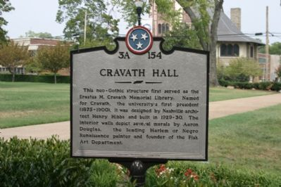Cravath Hall Marker image. Click for full size.